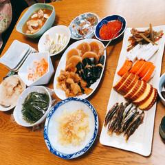 御節/初詣/あけおめ/冬/おうち/年末年始/... 昨日の朝食は我が家に帰って初のご飯🤗 お…