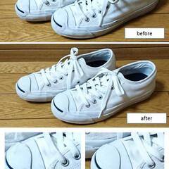 シューズ/靴/内履き/洗濯/ネット/時短/... 時短商品!  シューズ専用ネットを使って…