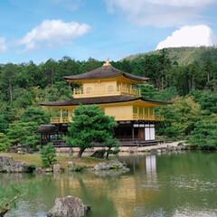 京都 金閣寺へ
