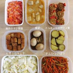 手作りお惣菜/野菜中心/つくりおき/おうちごはんクラブ/おうちごはん/ごはん こんにちは! これは週末恒例の野菜を中心…(1枚目)