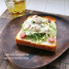 幸せわたしのごはん/わたしのごはん/朝ごパン/LIMIAごはんクラブ/おうちごはんクラブ/グルメ/... こんにちは。 きょうの朝ごパンは前日の残…