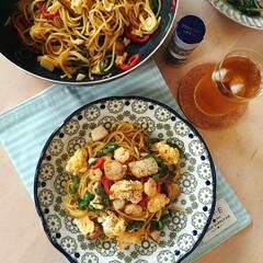 簡単レシピ/休日ランチ/オイスターソース焼きそば/焼きそば/おうちごはん/フード こんにちは! 休日のお昼ご飯はよく麺類を…