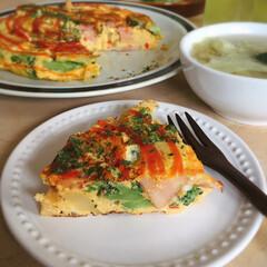 簡単レシピ/スペイン風オムレツ/トルティージャ/おうちおやつ/わたしのごはん ボリューム満点の卵料理 トルティージャで…