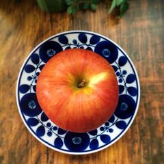 好きな食器/林檎/ブルームシリーズ/白山陶器/食器 食器は大好きです。 色々なタイプの食器を…