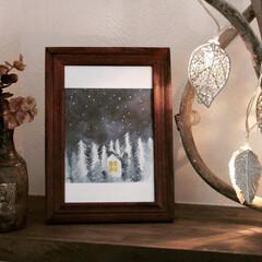 作家物/陶芸作品/クリスマス/アートのある暮らし 階段下トイレの棚のディスプレイは、陶芸家…