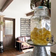 レモンシロップ/DULTON/ダルトン/食事情/【PR】LIMIAcamp/キッチン雑貨/... 地元産レモンがたくさん手に入った時に作る…