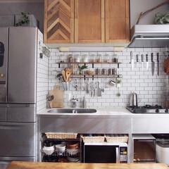 オーブントースター アイリスオーヤマ ミラーオーブントースター MOT-012 縦型 | アイリスオーヤマ(トースター)を使ったクチコミ「我が家のダイニングキッチンは狭小なので家…」