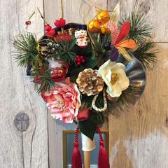 正月飾り/お正月2020/ハンドメイド/フォロー大歓迎/正月準備 お正月飾りのアイデアで投稿してますが熊手…