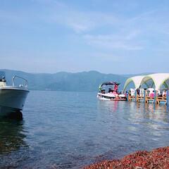 フォロー大歓迎/LIMIAファンクラブ/おでかけ/風景/地元のオススメ 先日、娘が友達パパのボートで中島までバー…(1枚目)