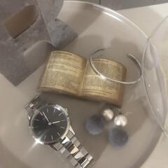 プレゼント/時計/暮らし/フォロー大歓迎 お気に入りのダニエルウェリントンの時計。…(1枚目)
