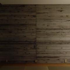 寝室/ベッドルーム/打放し/障子 ripple house 夜の主寝室  …