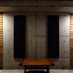 中庭/庇/ギャラリー/外リビング/屋外/アウトドア/... ripple house 中庭の外廊下 …