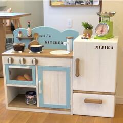 おもちゃ/おままごと冷蔵庫/おままごとキッチン/DIY/雑貨/インテリア/... ♡︎おままごとシリーズ♡︎ おままごとキ…