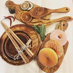 キッチン雑貨/キッチン/食器/自然/オリーブ/お皿/... ✾︎オリーブの木食器✾︎ 自然なテイスト…