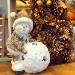 Xmas/クリスマス雑貨/冬雑貨/スノーマン/雑貨/おすすめアイテム/... ♡︎可愛いスノーマン♡︎ これからのシー…