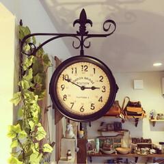 レトロ/アンティーク/ウォールクロック/時計/雑貨/インテリア/... ❃︎アンティーク時計❃︎ レトロ感もあり…