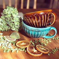 美濃焼/食器/スープカップ/キッチン雑貨/おうちごはん/雑貨/... ✾︎スープカップ✾︎ コロンとした丸みが…