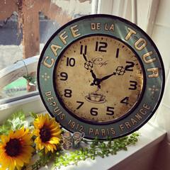 時計/壁掛け時計/おすすめアイテム/LIMIAインテリア部/雑貨/暮らし/... ୨୧ 〜壁掛け時計〜୨୧⑅︎*・ アンテ…