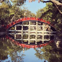 パワースポット/住吉大社/太鼓橋/おでかけ/風景/おでかけワンショット/... ❃︎大阪の住吉大社❃︎ 関西では有名な住…