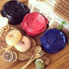 ココポット/ランチボックス/お弁当箱/お弁当/雑貨/キッチン雑貨 ❁︎ココポット❁︎ お鍋型の可愛い2段式…