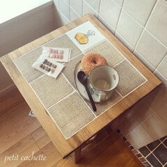 インテリア家具/インテリア雑貨/輸入タイル/サイドテーブル/DIY/雑貨/... ✾︎オーダー商品 〜サイドテーブル〜✾︎…(4枚目)