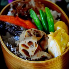 筑前煮/オカカ飯/フォロー大歓迎 おはようございます😊  今日のお弁当です…