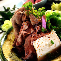 鍋物/グルメ/フード/おうちごはん 今夜の夕飯です^ ^  今夜は牛鍋です^…