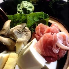 鍋物/わたしのごはん/グルメ/フード 今夜の夕飯です💦  来週息子の剣道の試合…
