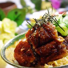 インゲンとピーマンの塩炒め/たけのこ白煮/シジミお味噌汁/鰻丼/土用丑の日/LIMIAごはんクラブ/... 今夜の夕飯です^ ^  土用丑の日なので…