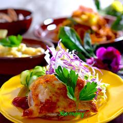アサリのお味噌汁/山芋チーズ焼き/焼きそば/リミアな暮らし/鶏の塩焼き こんばんは^ ^  今日の休日は、やりた…