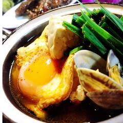 レシピ/鍋物/スンドゥブ/グルメ/フード/おうちごはん 肌寒くなりましたね^ ^  肌寒い日には…