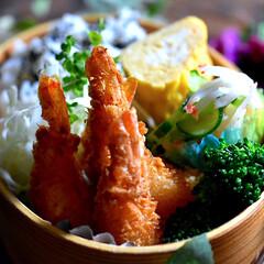 エビフライ/お弁当/フォロー大歓迎 おはようございます😊  今日の和歌山は穏…