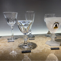 グラス/バカラ/おでかけ/フォロー大歓迎 今日、見たいものがあって、あべのハルカス…