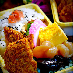 秋晴れ/遠足/お弁当/フォロー大歓迎 おはようございます😊 今日のお弁当です。…(1枚目)