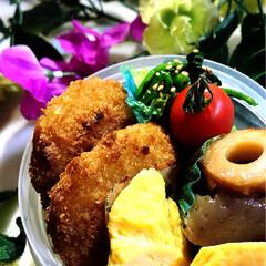 お弁当/グルメ/フード/おうちごはん 今日のお弁当です^ ^  良いお天気で洗…(1枚目)