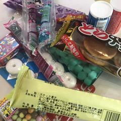 遠足用/駄菓子/お菓子/フォロー大歓迎 明日、社会見学に行く息子^ ^ オヤツを…