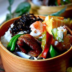 焼肉弁当/お弁当/フォロー大歓迎 おはようございます😊  和歌山は今日も暖…
