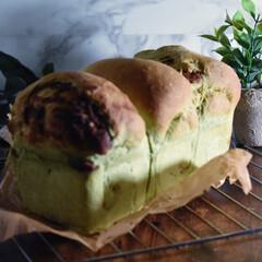 リミアな暮らし/おうちパン/手作りパン/食パン/餡/ヨモギ こんばんは^ ^  今夜は息子と食パン作…