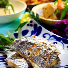 天ぷら/冷奴/筑前煮/太刀魚塩焼き/フォロー大歓迎/LIMIAごはんクラブ/... 今夜の夕飯です^ ^  今日も暑かったで…