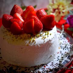 あまおう苺/Xmas cake/クリスマス2019/フォロー大歓迎 こんばんは^ ^  今年はあまおう苺のク…