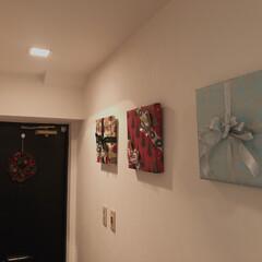 お正月飾り/お正月インテリア キャンパスアートをラッピングするだけで、…(5枚目)