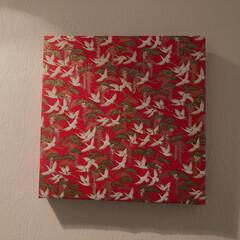 お正月飾り/お正月インテリア キャンパスアートをラッピングするだけで、…(3枚目)