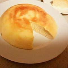 炊飯器/チーズケーキ 炊飯器チーズケーキ🎵