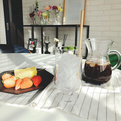 グラス セット 北欧 ホルムガード STUB スタッブ グラス 380ml 2個セット 4340491 ギフト 日本正規代理店品(コップ、グラス)を使ったクチコミ「今日のおやつ。 ルタオのチーズケーキと苺…」