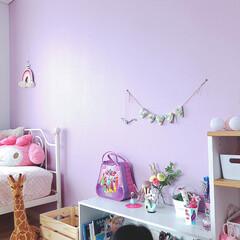 リミアな暮らし/ピンク/女の子の部屋/子供部屋女の子/子供部屋インテリア/子供部屋/... 娘の部屋です。 マイナーチェンジがやっと…