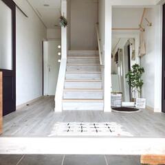 IKEA/イケア KAMPIG:フック 黄銅色   イケア(吸盤フック)を使ったクチコミ「いらっしゃい、ようこそ我が家へ😊  玄関…」