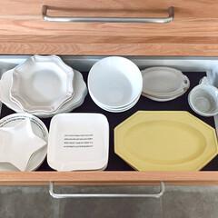 整理収納/すっきり暮らす/キッチン背面収納/ディッシュスタンド/お皿スタンド/お皿収納/... お皿収納イベントに参加します!  リフォ…