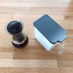 スパイスコンテナ 3個入り | サラサデザイン(調味料ケース)を使ったクチコミ「おすすめのキッチンツールの一部。 sar…」