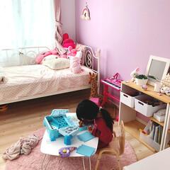 娘部屋/リミアな暮らし/LIMIAな暮らし/ピンク/収納/住まい/... 娘ちゃんの部屋。 ピンクピンクなパー子部…