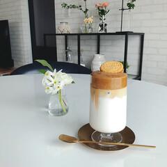 グラス セット 北欧 ホルムガード STUB スタッブ グラス 380ml 2個セット 4340491 ギフト 日本正規代理店品(コップ、グラス)を使ったクチコミ「今日のおやつ。 また。笑 タルゴナコーヒ…」